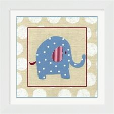 Katherine's Elephant Framed Art