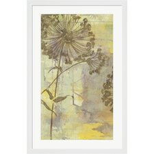 Dandelion Dance I by Jennifer Goldberger Framed Painting Print