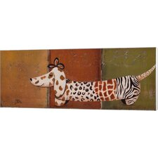 Fashion Puppy I by Patricia Pinto Painting Print on Canvas