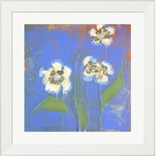 Orchid Study 1 by Maeve Harris Framed Painting Print