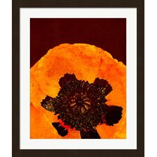 Autumn Bohemian Poppy by The Evie Empire Framed Graphic Art