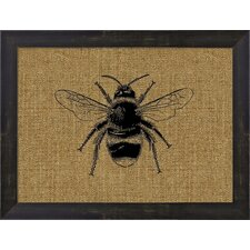 Bumble Bee by Kikki Sullivan Frame Graphic Art