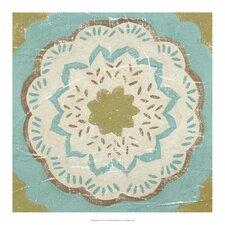 Rustic Tiles IV by Chariklia Zarris Painting Print