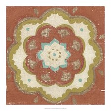 Rustic Tiles VI by Chariklia Zarris Painting Print
