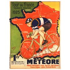 Tour de France 1925 by Red Vintage Advertisement