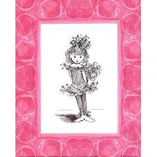 Sugar Plum Ballerina Paper Print