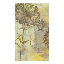 Dandelion Dance I by Jennifer Goldberger Painting Print