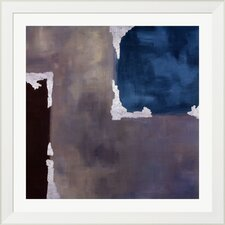 'Spa Accent I' by Laurie Maitland Framed Painting Print