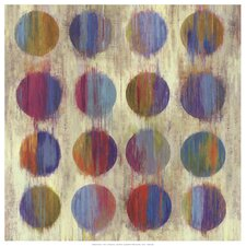Ikat Dots II Aimee Wilson Painting Print