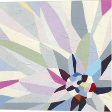 Geometric Dahlia II June Erica Vess Graphic Art on Canvas