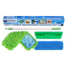 Fibermop 4 Piece Microfiber Mop Cleaning Kit