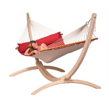 North American Style King-size Hammock with Spreader Bar