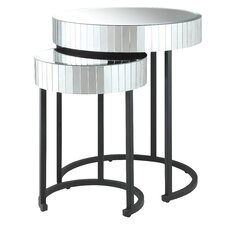 Krystal 2-Piece Nesting Tables