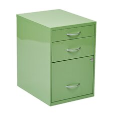 3-Drawer Metal File Cabinet