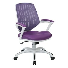 Ave Six Calvin Mid-Back Mesh Office Chair