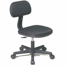<strong>OSP Designs</strong> Fabric Back Task Chair