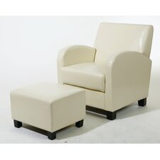 Metro Collection Ottoman and Chair