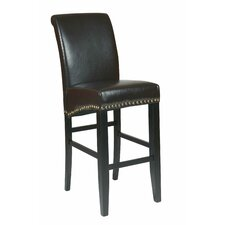 "<strong>OSP Designs</strong> Metro 30"" Bar Stool with Cushion"