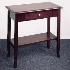 <strong>OSP Designs</strong> Merlot Foyer Table