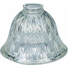 "7.25"" Glass Bell Pendant Shade"