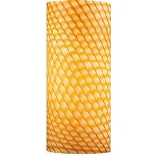 "4.75"" Frit Glass Drum Pendant Shade"