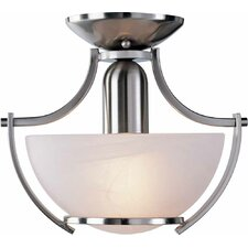 Durango 1 Light Semi Flush Mount