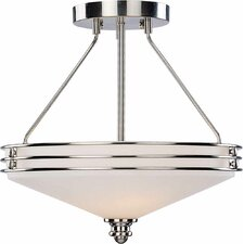 Avila 3 Light Semi Flush Mount
