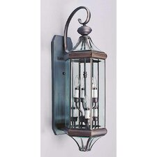 6 Light Outdoor Wall Sconce
