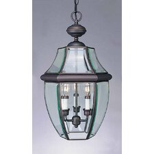 3 Light Outdoor Pendant