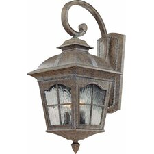 Leeds 3 Light Outdoor Wall Sconce