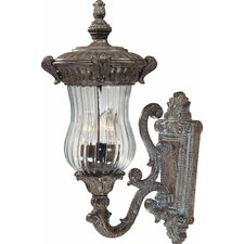Melrose 3 Light Outdoor Wall Sconce