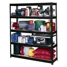 "Modular Ultra Rack 72"" H 5 Shelf Shelving Unit"