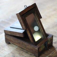 Reclaimed Wood Barber Box
