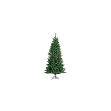 9' Huntington Spruce Christmas Tree with 605 LED F5 5 Multi Lights with Stand