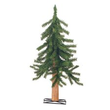 3 Piece Unlit Gatlinburg Christmas Tree Set with Stands