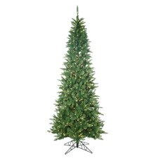 <strong>Sterling Inc.</strong> 9' Green Narrow Nordic Fir Christmas Tree with 700 Clear Lights and Stand