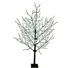<strong>Sterling Inc.</strong> 8' Blossom Artificial Christmas Tree with 567 Cool White LED Lights