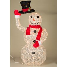 Animated Snowman Christmas Decoration
