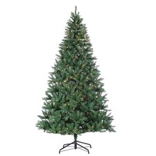 <strong>Sterling Inc.</strong> 8' Green Hudson Pine Christmas Tree with 700 Clear Lights with Stand