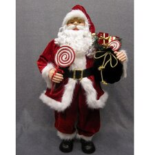 Santa with Candy Bag