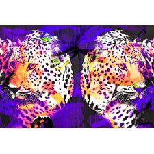 """Leopard Skin"" Graphic Art on Canvas"