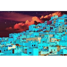 """Hillside At Midnight"" Canvas Art"