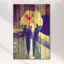 "<strong>Salty & Sweet</strong> ""Lovebirds Pastel"" Canvas Art"