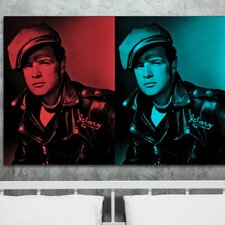 """The Wild One"" Graphic Art on Canvas"