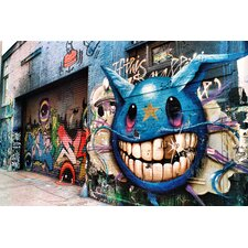 """Graffiti Alley"" Canvas Art"