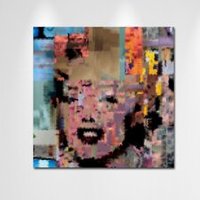 """Norma Jeane"" Canvas Art"