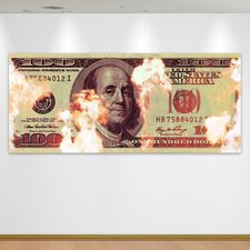 """Money To Burn"" Canvas Art"