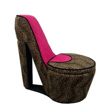 High Heel Storage Side Chair