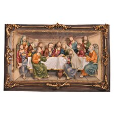 "<strong>ORE Furniture</strong> ""The Last Supper"" 3-D Plaque Wall Décor"
