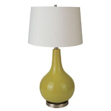 "Ceramic 28"" H Table Lamp with Empire Shade"